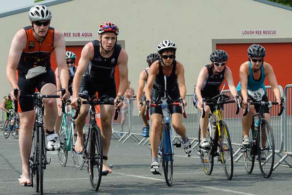 Cycling In A Triathlon